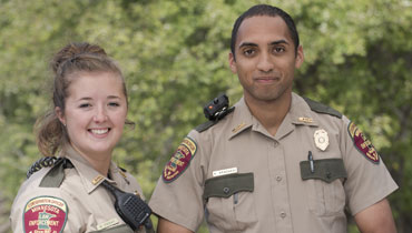 Conservation officers
