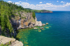A view of Minnesota's North Shore