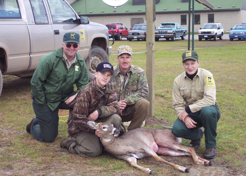 The annual youth archery deer hunt at Camp Ripley is one of the most popular hunts in the state.