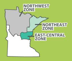 Minnesota's wolf management zones