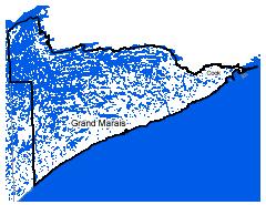 Map of Grand Marais work area