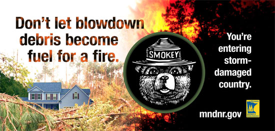 image: Billboard with Smokey Bear