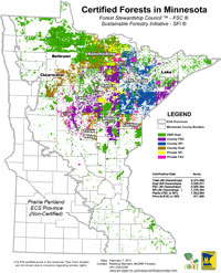 Certified Forests in Minnesota
