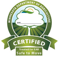 image: MDA certified firewood shield
