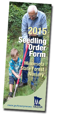 image: 2011 cover of  State Tree seedling sales brochure