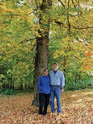 Greg Nolan and Marcia Rapatz