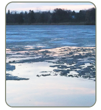 lake ice photo