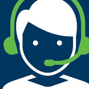 illustration of person with a headset on