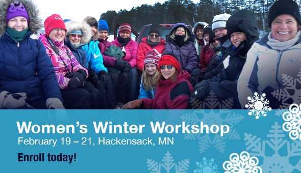 Sign up today for women's weekend winter workshop