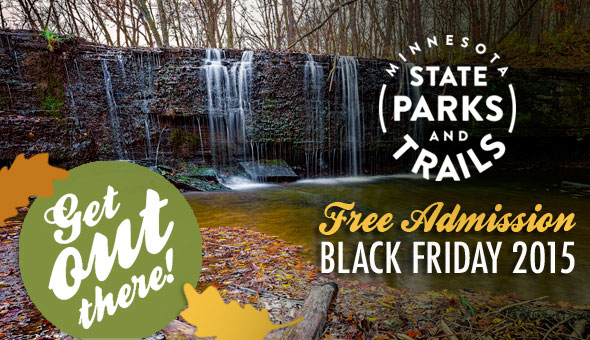 Free admission to Minnesota State Parks on Black Friday