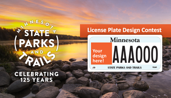 Minnesota State Parks License plate design contest