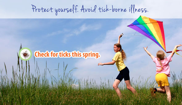 Protect yourself against tick-borne illness