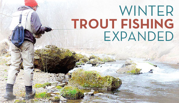 trout fishing expanded in SE Minnesota