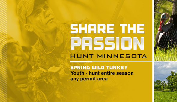 Share the passion. Spring Wild turkey hunt.