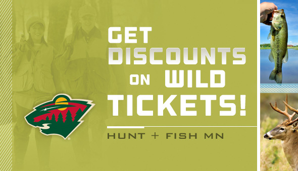 Get discounted Wild tickets with a hunting for fishing license