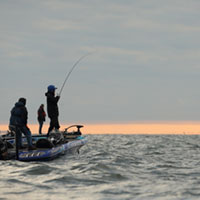 fishing on Mille Lacs