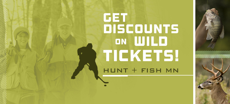Get discount tickets for Wild hockey games