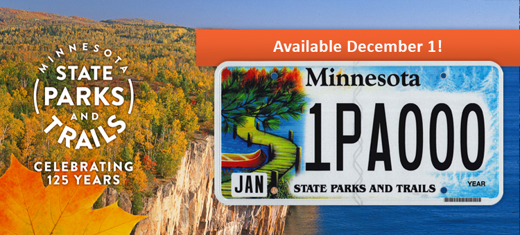 New license plate available Dec. 1