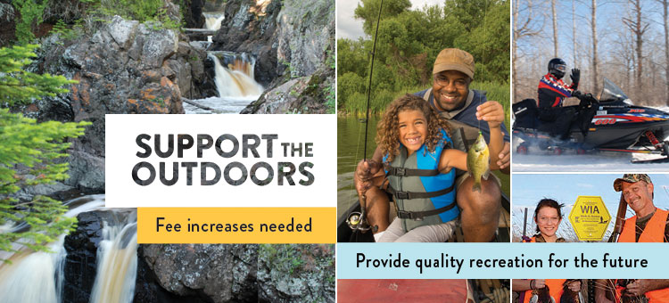 Support the outdoors