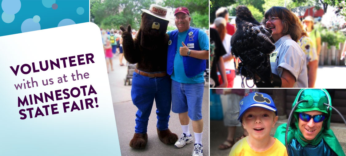Volunteer with the DNR at the State Fair