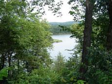 View of Minnesota River from Skalbekken County Park