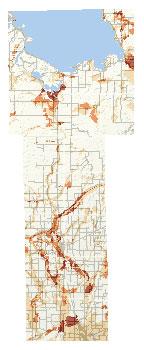 Mille Lacs Inset Map