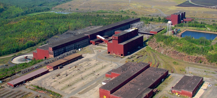 PolyMet's proposed plant site