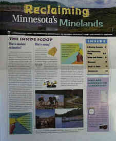 Thumbnail image of the reclaiming minnesota minelands publication