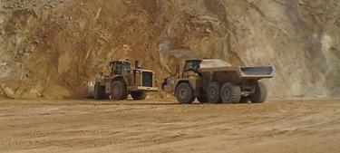 Silica sand mine