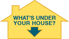 Whats under your house -  View results.