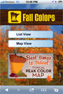 fall colors thumbnail of details screen