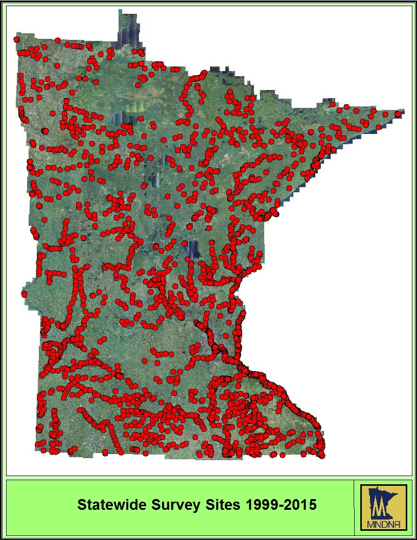 Image of Statewide Survey Sites 199-2015