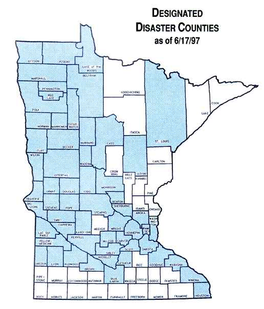 Designated Disaster Counties