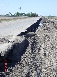 erosion on hwy 9