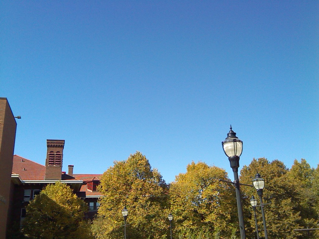 Clear skies in early October 2016