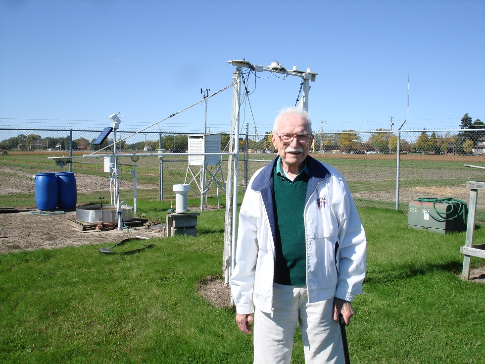 Don Baker: the Founder of the U of M St. Paul Campus Weather Station