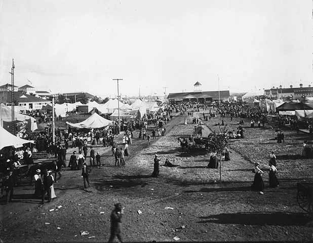 General Scene at the Fair Around 1900