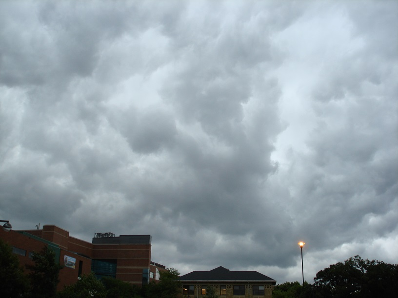 Stormy Clouds over the University of Minnesota-St. Paul Campus: September 19, 2013