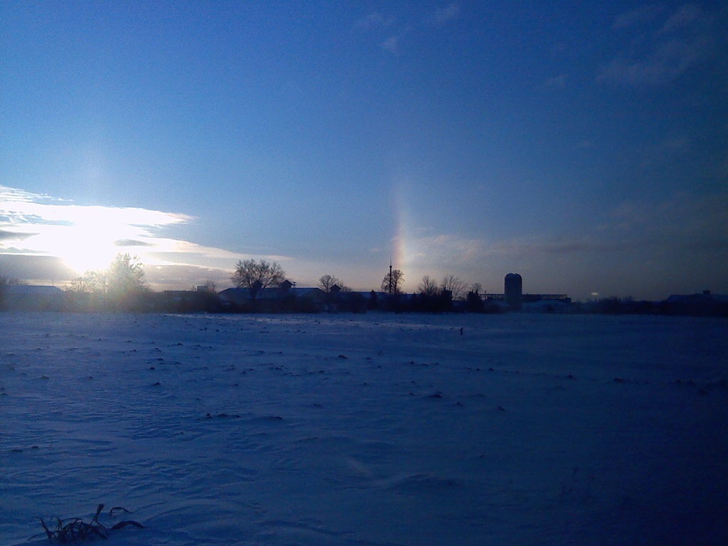 Sundogs at the U of M St. Paul Campus: November 17, 2014