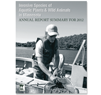 Invasive Species 2013 Calendar cover