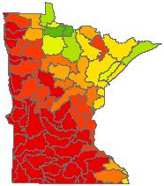 Biology Index - Terrestrial Habitat Quality (major scale)