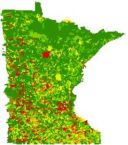 Connectivity Index - Aquatic Connectivity (catchment scale)