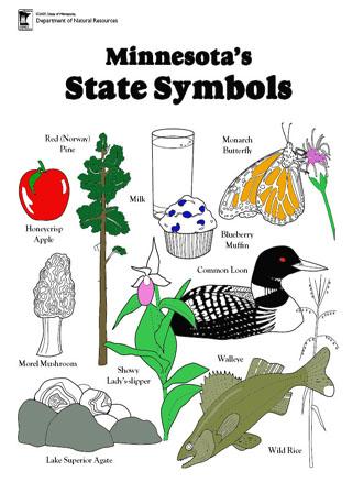 MN Symbols Coloring Book