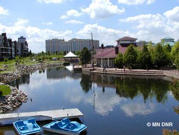 Centennial Lake.