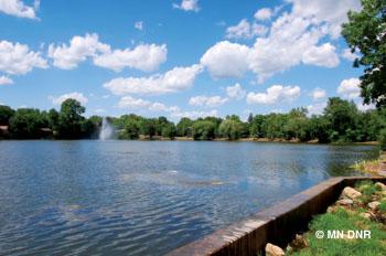 Jordan Mill Pond.