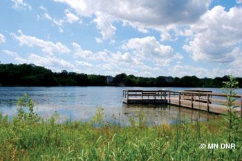 McColl Pond.