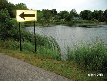 McKusick Lake.