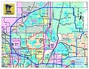 CWD registration stations in east-central Minnesota