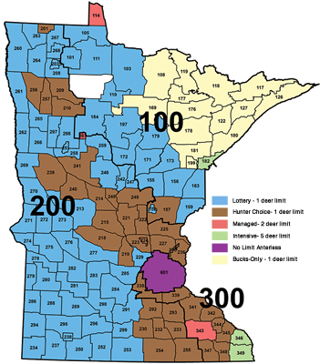 2014 deer permit areas and designations