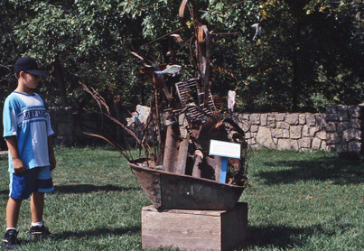Adopt-a-River state fair sculpture 1994